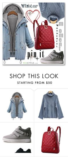"""""""YesStyle - 10% off coupon"""" by jecakns ❤ liked on Polyvore featuring miim"""