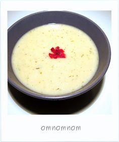 Zupa krem pietruszka z gruszką/jabłkiem i fasolą