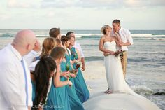 Destination Wedding Photos Secret Silversands Riviera Cancun, Bridal party photos