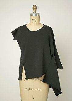 Shirt  Comme des Garçons (Japanese, founded 1969)  Date: ca. 1983