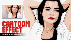 How to Change Photos to Vector Cartoon Easily in Photoshop Without Pen T. Photoshop Tutorial, Photoshop Youtube, Cool Photoshop, Advanced Photoshop, Photoshop Actions, Lightroom, Photoshop For Photographers, Photoshop Photography, Photo To Cartoon