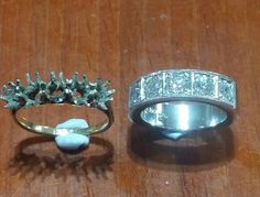 From old ring turned into new