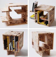 Multipurpose furniture.