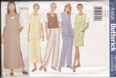 No Zipper WOMEN'S SEWING PATTERN Butterick 5468 by retrochick66, $6.95