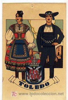 TOLEDO. TIPOS DEL PAIS. DIBUJO TIPO PENAGOS. SERIE D NUM. 44 BIS. PUBLICACIONES CIAGRA. MADRID. (Postales - España - Castilla La Mancha Antigua (hasta 1939) - Toledo)