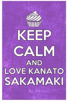 Keep calm and love Kanato Sakamaki 0-0