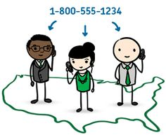 Toll free or local number - local or national presence  Unlimited extensions - for departments & employees  Call forwarding to mobile phones - work from anywhere  Voicemails via email - play online or on cell phone  Manage online or by phone - no hardware to purchase  New Feature! - 855 Toll Free Numbers
