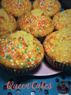 Queen Cakes, Cupcake Cakes, Cupcakes, Ethnic Food, Soul Food, Cake Recipes, Muffin, British, Meals