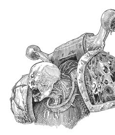 chaos SM engraving by Skirill on deviantART
