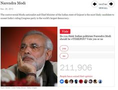 Narendra Modi: India's Lone Candidate for Time Person of the Year