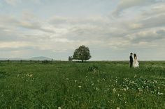WEDDING or ENGAGEMENT - Love using a landscape photo w/ couple posed off center