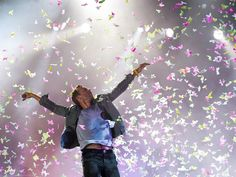 Butterfly confetti. Can I wake up to this every morning?