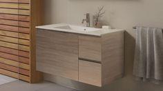 Timberline Ostia 900mm Wall Hung Vanity - Bathroom Vanities - Vanities & Basins - Bathroom, Tiles & Renovations | Harvey Norman Australia