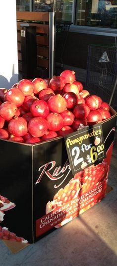 Ruby Fresh puts new meaning to the freshest #pomegranates on the shelves!