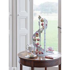Talking Tables Truly Scrumptious Spiral Cake Stand - Le Petite Putti toronto Canada
