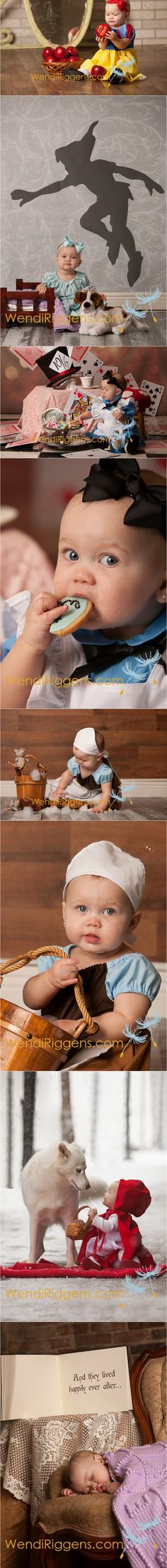 Children's Fairytale Portraits | Evoking You | Oh my goodness! These are just so sweet!!! I LOVE THIS!!!!