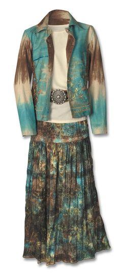 Gypsy-Jacket-&-Broom-Skirt-Set