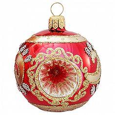 Christmas Ornaments Ball Blown Glass Reflector