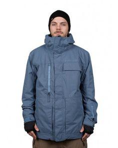 094e5fcdcb 686 Authentic SMARTY Form Jacket - Slate Blue