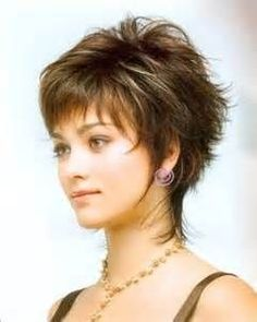 Hairstyle Layered Hair Styles For Short Hair Women Over 50 - Bing Images.  Not sure....