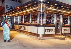"Empire Diner: Amelia Lester on the restaurant's patty melt, which is ""refined but not annoyingly so, ... while also insuring the correct balance of crunch (toasted rye) and ooze (Swiss cheese and caramelized onions)"""