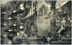 """""""Peter Milton - Points of DepartureII:Nijinsky Variations (Second State)"""" Found this image while researching in the South Australian State Library in 2011- Still in awe of Peter Milton's skills in this etching. S"""