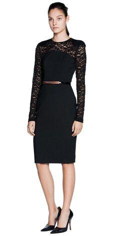 Cue dresses black