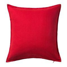 IKEA GURLI - Cushion cover, red - 50x50 cm Ikea http://www.amazon.co.uk/dp/B00GMM67XY/ref=cm_sw_r_pi_dp_-KAvwb051TCMX