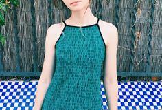 Camiseta cuello halter, cómoda y fresquíssssima. - instintobcn.com