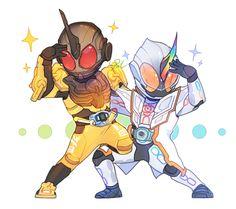 Kamen Rider Grease & Kamen Rider Ghost Mugen Damashii