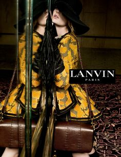 Baylee Soles, Hollie May Saker, Kelsey Soles, Zoe Bedeaux by Tim Walker for Lanvin F/W 2015-16