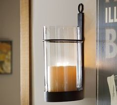 Modern Rustic wall sconces... love these! | Things I Can Use ...