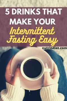Do you do intermittent fasting? Then see these drinks allowed during intermittent fasting and which still help to make your intermittent fasting easy. #intermittentfastingtips #intermittentfastingdrinks Types Of Diets, Lose Weight, Weight Loss, Healthy Diet Tips, Stay Hydrated, Gain Muscle, Intermittent Fasting, Cleanse, Nutrition