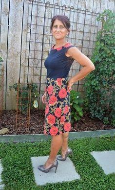 Petite Miss Audrey Gr. Petite Miss, Elegant, Vintage, Floral, Skirts, Pattern, Fashion, Summer, Blouses