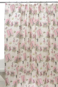 Waverly by Famous Home Fashions Tres Chic Pink Shower Curtain by Waverly by Famous Home Fashions, http://www.amazon.com/dp/B006WVG8MU/ref=cm_sw_r_pi_dp_WVhGqb0P5ESAF