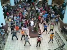 Be part of a flash mob!