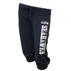 On the hunt for the perfect #Seahawks sweatpants. #musthavegamedaygear