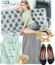 """""""Project 333/Phase 6/Winter 2012- Look 02"""" by jcrewchick ❤ liked on Polyvore"""