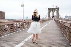 Bows on the Brooklyn Bridge // @bowsandsequins