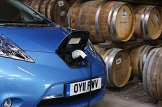 Scottish distillery powers their Nissan Leaf with whiskey