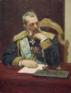 Repin Ilja Jefimowitsch - Großfürst Wladimir / Gem. von Repin