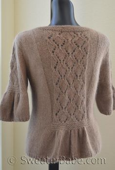 #70 Lush and Lacy Cardigan