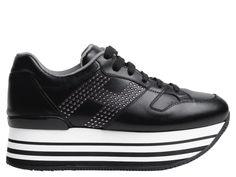 Shop Hogan Sneakers Black Women in Hogan outlet and Hogan sale online store. c4253394743
