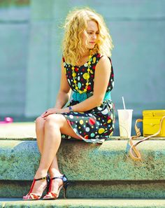 The Carrie Diaries. Really digging the hair/make up and wardrobe in this show