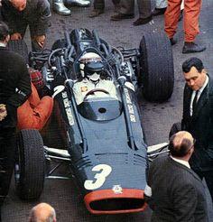1967, Oulton Park, Spring Cup, Jackie Stewart, BRM P83