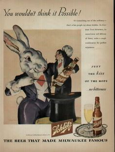 1945 Schlitz AD, You wouldn't think it Possible!