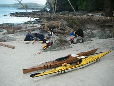 Kayak Camping Trips remote camp site by kayak Camping Tours, Kayak Tours, Kayak Camping, Outdoor Camping, Campsite, Oregon Coast Camping, Southern Oregon Coast, New York State Parks, Outdoor Retreat