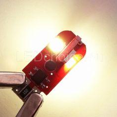 W5W-501-T10 LED Car Bulb 4-SMD G3 CAN-Bus 4300K - LED Auto Lights | LEDchoice.eu