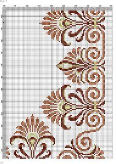 Cross Stitch Borders, Cross Stitch Flowers, Cross Stitching, Cross Stitch Patterns, Knitting Patterns, Seed Bead Flowers, Beaded Flowers, Beaded Embroidery, Cross Stitch Embroidery