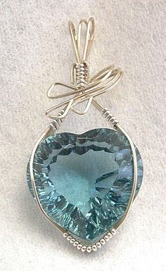 Aquamarine heart Jewelry